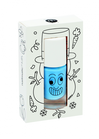 Nailmatic abwaschbarer Nagellack Freezy in himmelsblau