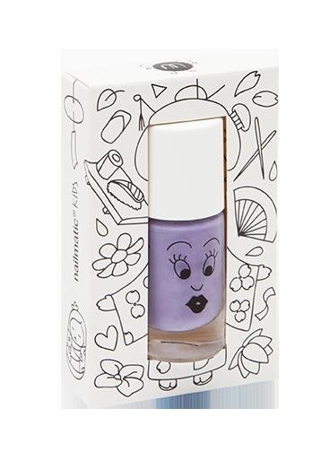 Nailmatic abwaschbarer Nagellack Kanako in lila