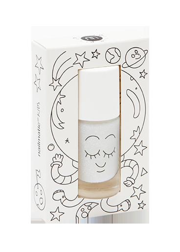 Nailmatic abwaschbarer Nagellack Super in Transparent mit Glitzer