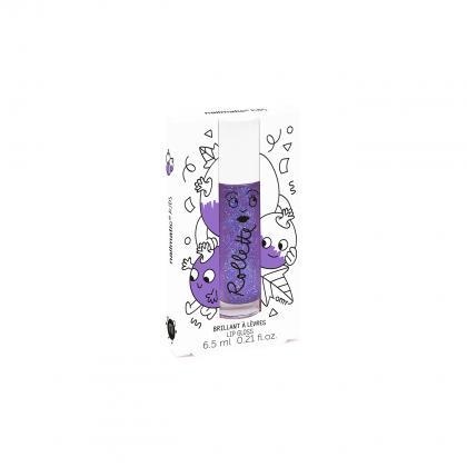 Nailmatic natürlicher Lip-Gloss mit Blaubeer Geschmack in lila