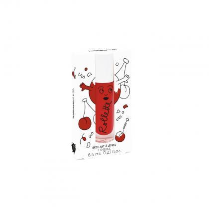 Nailmatic natürlicher Lip-Gloss mit Kirsch-Geschmack in rot