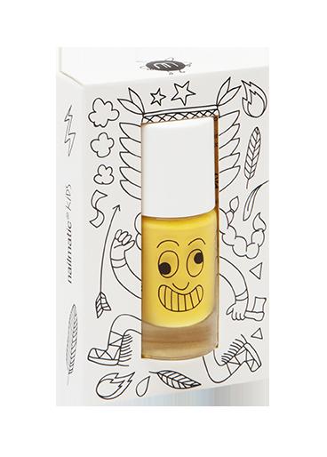 Nailmatic abwaschbarer Nagellack Plume in gelb
