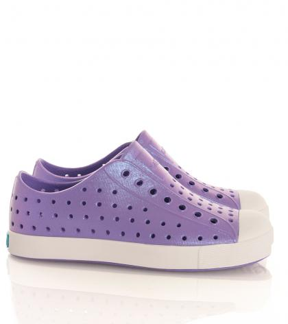 Sneakers Jefferson waterproof in schimmerndem lila  (vegan)