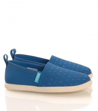 Native leichter Slipper Venice in blau (vegan)