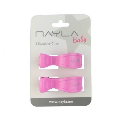 Nayla Baby Clips 2er Set in rosa