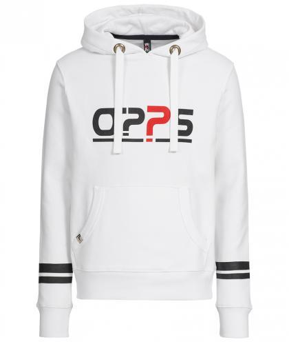 O??S Platinum unisex hoodie - white