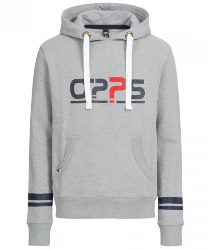 O??S Platinum unisex hoodie - grey