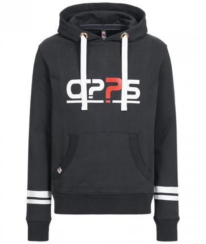 O??S Platinum unisex hoodie - black