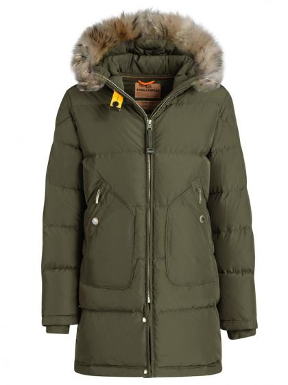 Parajumpers Light Long Bear Daunenparka in oliv