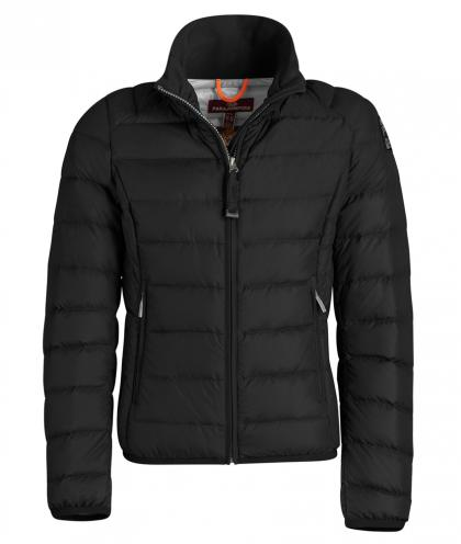 PJS Geena light summer down jacket - black