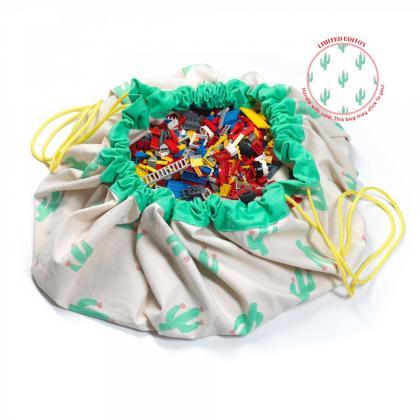 Play&Go 2in1 Spielsack & Spielteppich Kaktus