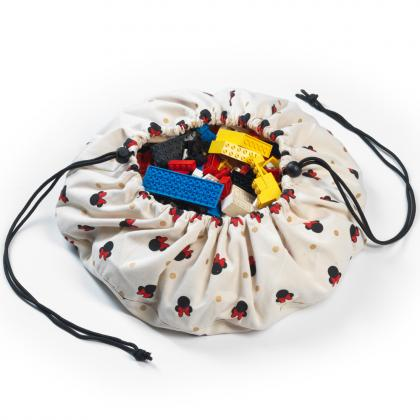 Play&Go Mini Spielsack/-matte Minnie Mouse - creme Ø40 cm