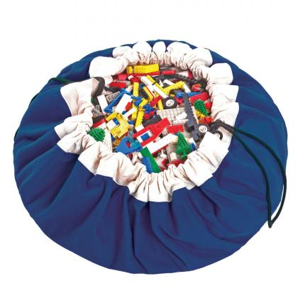 Play&Go 2in1 Toy Storage Bags & Playmat Coboltblue