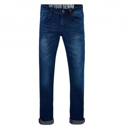 Retour Skinny Jeans Wesley - blau dark Wash