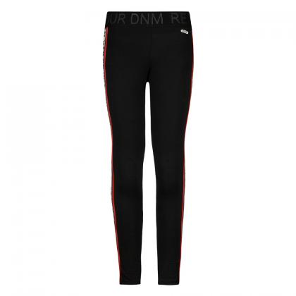 Retour Leggings Beau mit Track Stripes - schwarz