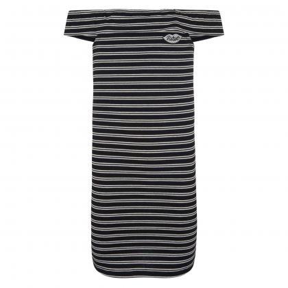 Retour Kleid Jenny mit Volant - schwarz