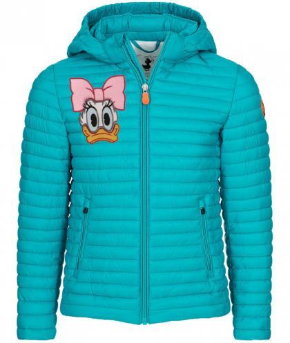 Save the Duck GIGA6 Disney Jacke aus Plumtech in türkis