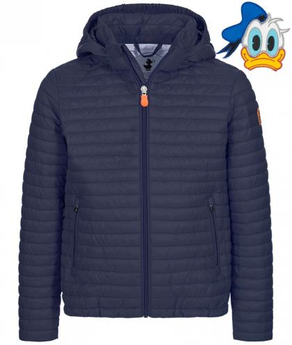 Save the Duck Jacke GIGA6 aus Plumtech mit Disney Patches in navy
