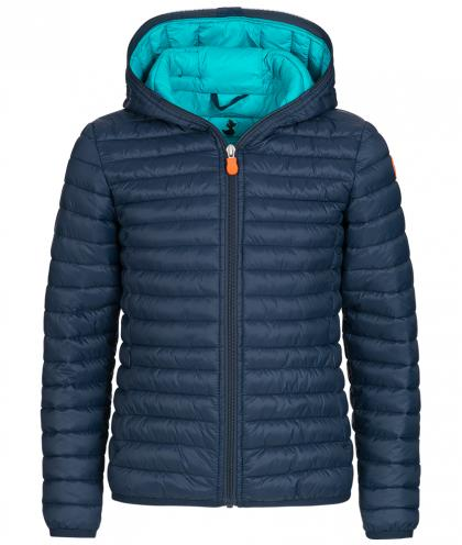 Save the Duck GIGA6 Jacke aus Plumtech in navy