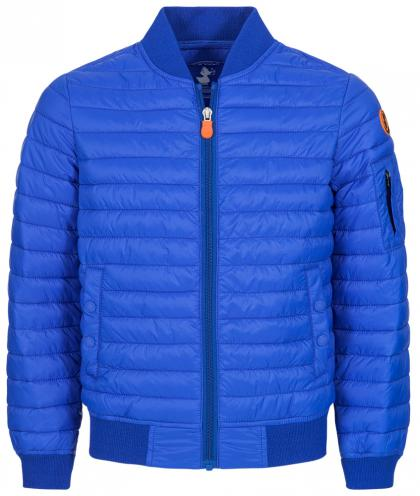 Save the Duck daunenfreie Bomberjacke GIGA6 aus Plumtech in blau