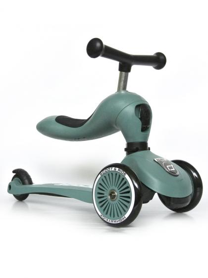 Scoot & Ride Highwaykick 2 in 1 - forest