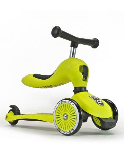 Scoot & Ride 2 in 1 Highwaykick1 - lime