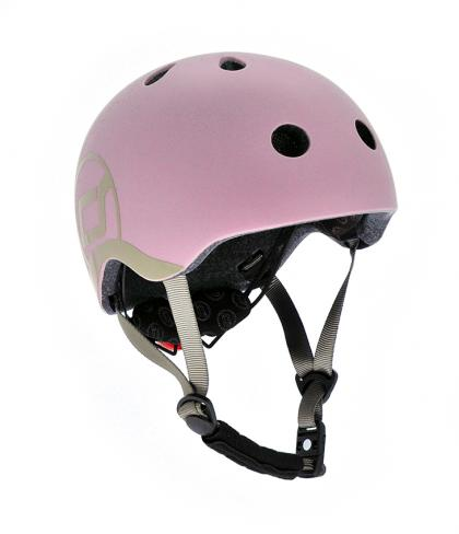 Scoot & Ride kids helmet - rose