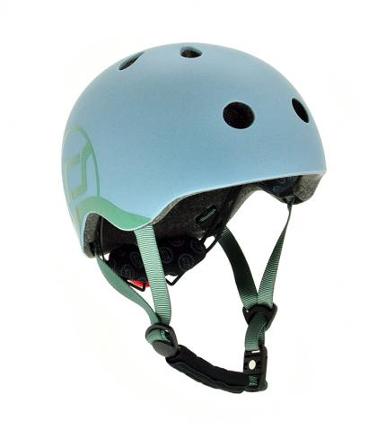 Scoot & Ride kids helmet - steel