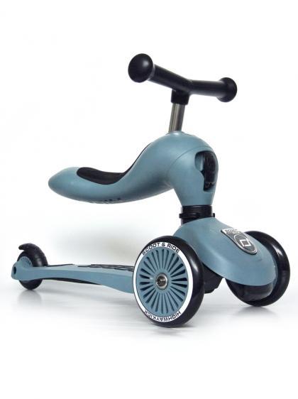 Scoot & Ride 2 in 1 Highwaykick1 - steel