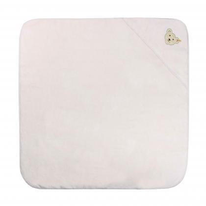 Steiff kuscheliges Kapuzen- Badetuch in rosa
