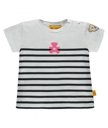 Steiff Shirt in navy-weiss gestreift
