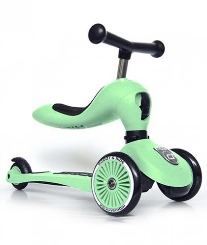 Scoot & Ride 2 in 1 Highwaykick1 - kiwi