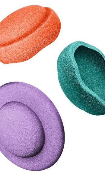 Stapelstein Colors Balance Board Set Secondary - Bunt