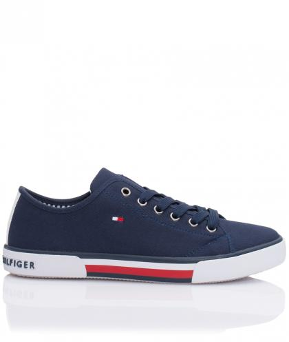 Tommy Hilfiger Canvas-Sneaker in navy