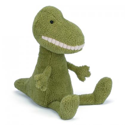 Jellycat Toothy T-Rex in green