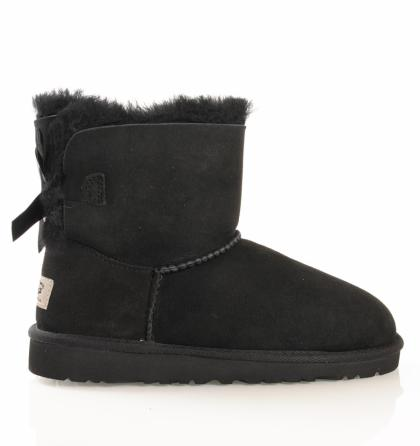 UGG Mini Bailey Bow in schwarz