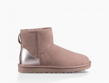 UGG Damen Classic Mini II Metallic in rosé