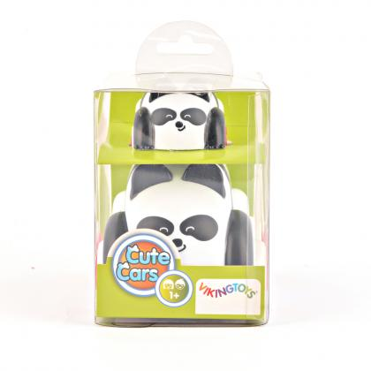 Viking Toys Cute Cars Mother&Baby Panda - weiß
