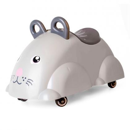 Viking Toys Cute Rider Rutscheauto Maus - grau
