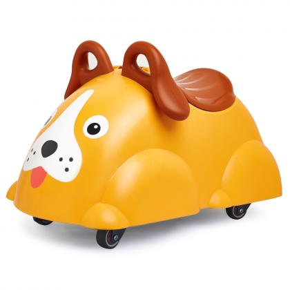 Viking Toys Cute Rider ride-on toy Dog - yellow