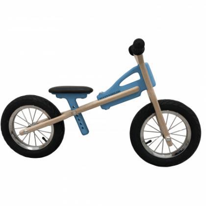 Woodywheelers Laufrad Woody Classic - blau
