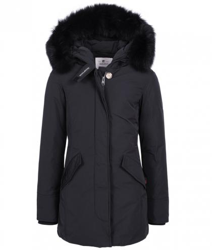 Woolrich Luxury Arctic Parka Fox with real fur - navy