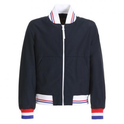 Woolrich bomber jacket Ramar - navy