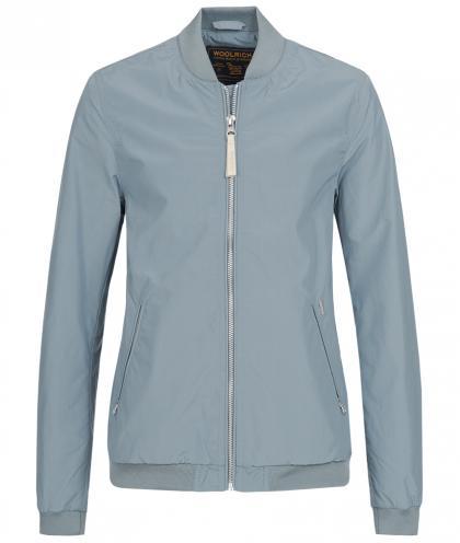 Woolrich bomber jacket Charlotte in light blue