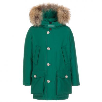 Woolrich Arctic Parka HC with real fur - evergreen