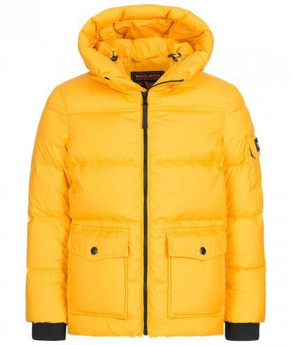 Woolrich Sierra Supreme Puffy Daunenjacke in gelb