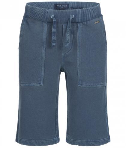 Woolrich Jogg-Shorts in blau