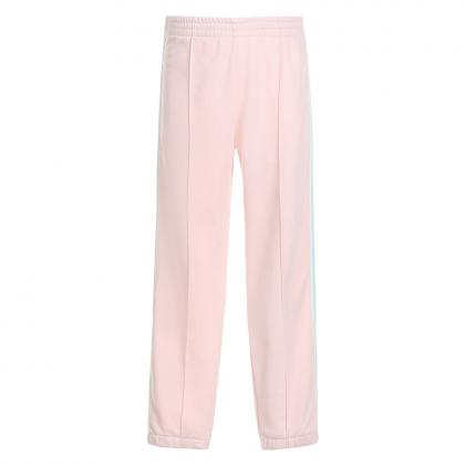 Woolrich Jogg-Pants mit Track-Stripes Girl - rosa