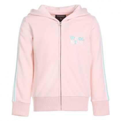 Woolrich sweat jacket girl - pink