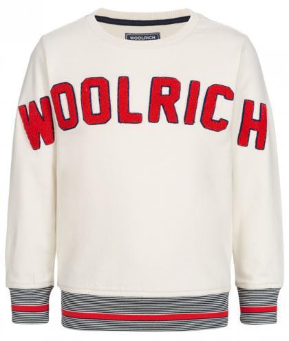 Woolrich Logo Sweatshirt - creme